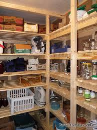 faire une chambre froide chambre froide au sous sol plan rangement pour les conserves