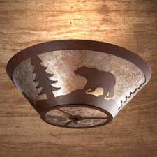 While Rustic Outdoor Lighting Is Often A More Popular Choice For The Outdoorsman Designer There Are Also Plenty Of Options Indoors As Well