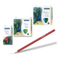Staedtler Triangular Coloured Pencil Sets Feature Easy To Grip Pencils In Brilliant Assorted ColouringPencil