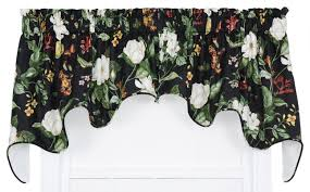 Waverly Curtains Christmas Tree Shop by Ellis Curtain Garden Images Large Scale Floral Print Lined Duchess
