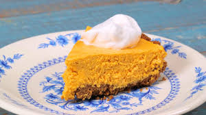 Gingersnap Pumpkin Pie Cheesecake by No Bake Pumpkin Cheesecake Southern Living