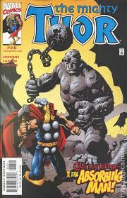 Thor 1998 2004 2nd Series 26 Marvel Comic Book Cover