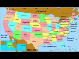 50 States And Capitals Of The United For Kids