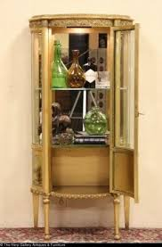 Pulaski Display Cabinet Vitrine by Gold Curio Cabinets Foter