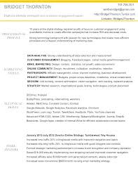 Marketing Executive Job Description Resume For Credit Specialist Sample Template Intern Examples