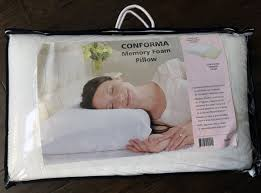 Dust Mite Bed Covers by Brands Conforma Memory Foam Pillow Review