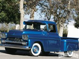 1958 Chevy | Shortbed Stepsides Only | Pinterest | Chevrolet, Trucks ... Tci Eeering 51959 Chevy Truck Suspension 4link Leaf Customer Gallery 1955 To 1959 Trucks History 1918 Chevrolet Apache 3100 Stock 139365 For Sale Near Columbus Oh Retyrd Photo Image Classic Cars Sale Michigan Muscle Old Amazoncom Custom Autosound Stereo Compatible With 1949 Chevygmc Pickup Brothers Parts 4x4 Rust Free Panel Very Cool Project Gmc Rat Rod 1958 Shortbed Stepsides Only Pinterest Chevy Chevrolet Station Wagon Rare 164 Scale Diorama Diecast One Fine 59
