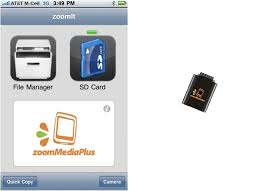 ZoomIt An SD Card Reader for iPhone
