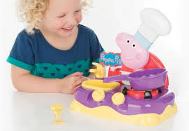 peppa pig table top kitchen set