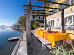 100 Villa Lugano Lakefront 1787 Valsolda Company Lake Como