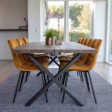 räuchereiche tisch 6 stühle alouis 7 teilig