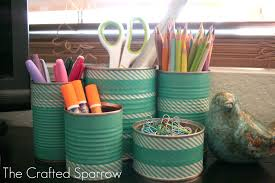 Halloween Washi Tape Ideas by Washi Tape Tin Cans The Crafted Sparrow