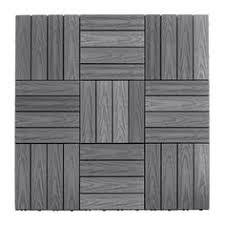 decking tiles 12 x 24 inch wood flooring tiles pack of 5 10 sq