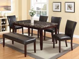 6 Pcs Idris Espresso Finish Faux Marble Top Dining Table Set / Table ... 4 Chair Kitchen Table Set Ding Room Cheap And Ikayaa Us Stock 5pcs Metal Dning Tables Sets Buy Amazoncom Colibrox5 Piece Glass And Chairs Caprice Walkers Fniture 5 Julia At Gardnerwhite Pc Setding Wood Brown Ikayaa Modern 5pcs Frame Padded Counter Height Ding Set Table Chairs Right On Time Design 4family Elegant Tall For Sensational