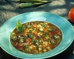 comment cuisiner le gombo recette soupe gombo au poisson