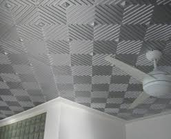 ceiling cool black drop decorative ceiling tiles with circular