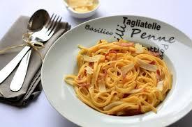 pâte à la carbonara la véritable recette italienne amandine
