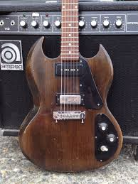 Or Take This Old Gibson SG 1 That I Modified For A Neck Pickup