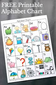 Grab This FREE Printable Alphabet Chart And Learn 6 Ways To Use It