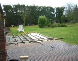 pose terrasse bois sur dalle beton prix installation terrasse bois
