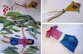 Kimono Paper Craft Hands On Creative