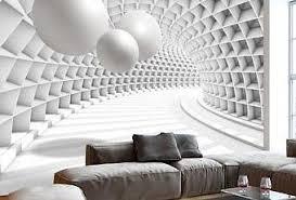 unglaublich 3d wandbilder wohnzimmer ideen