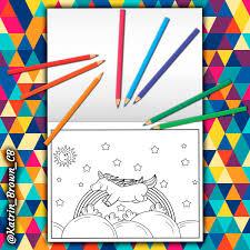Unicornio Simple Y Creativo Puede Ser Elementos Comerciales