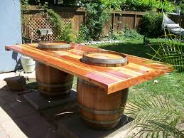 Pinterest Crawfish Boil Decorations by Wine Barrel Table This Would B Perfect For A Crawfish Boil Diy
