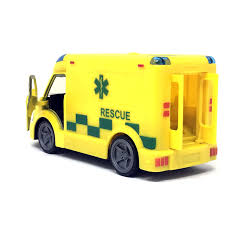 Toy Ambulance Light Sound Emergency Vehicle Truck Boys Girls Fun Toy ...