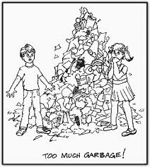 Best Recycling Coloring Pages 40 With Additional Download