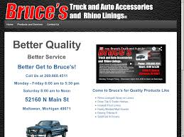 Bruce's Truck And Auto Accessories Competitors, Revenue And ... Hubler Chevrolet Sales Service In Indianapolis In Advantage Truck Accsories 593 Photos 3 Reviews Motor Vehicle Linex Yakima Parts For Toyota Vehicles Sunshine Battle Creek Mi Denam Trailer Used Cars Repair Liquid Spiderweb Grille Insert Aftermarket Michigan Life Michigantrucklife Instagram Profile Champion Cdjr Lansing New Inventory Showroom Camp Cruise Marne Amazoncom Tac Bull Bar Fit 092018 Dodge Ram 1500 Excl Rebel Auto To Enjoy Winter Northern Brown Motors