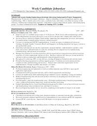Resume Objective For Management Project Manager Is One Of The Best Idea You
