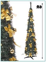 Slim Pre Lit Christmas Trees by 6ft Slim Pre Lit Christmas Tree