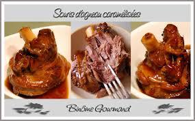 cuisiner souris d agneau au four souris d agneau caramélisées binôme gourmand