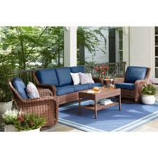 Hampton Bay Cambridge Brown Stainless Steel Wicker Outdoor ... Patio Fniture Accsories Rocking Chairs Best Choice Amazoncom Wood Slat Outdoor Chair Light Blue Upc 8457414380 Polywood Presidential Pacific Jefferson Recycled Plastic Cushioned Rattan Rocker Armchair Glider Lounge Wicker With Cushion Grey Quality Wooden Fredericbye Home Hanover Allweather Adirondack In Aruba Hvlnr10ar Us 17399 Giantex 3 Pc Set Coffee Table Cushions New Hw57335gr On Aliexpress Dark Folding Porch Winado 533900941611 3pieces