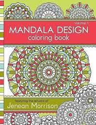 Jenean Morrison Adult Coloring Bks Mandala Design Book