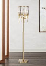 Overarching Floor Lamp Antique Brass by Brass Floor Lamps Lamps Plus
