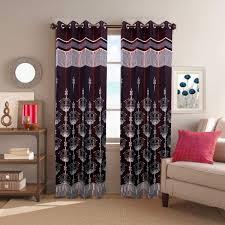 Buy Home Decor Designer Cotton Morphino Silk Door Curtain