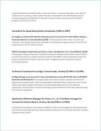 Resume For Management Position Unique Sample Project Manager