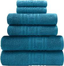 ph pleasant home badezimmer handtuch set 6teillig 2 badehandtücher 2 handtücher 2 waschlappen 100 baumwolle 520 g m griechischer