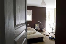 chambre chocolat et blanc peinture chambre ado couleur chocolat et gris