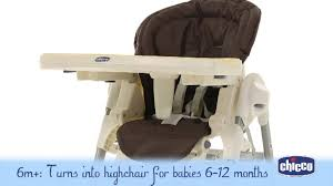 Chicco High Chair Polly by Chicco Polly Magic Highchair Demonstration Video Babysecurity