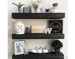Floating Shelves Shelf Nursery Bathroom Kitchen Rustic