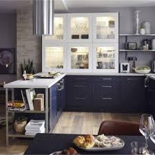 cuisines delinia meuble de cuisine bleu delinia topaze leroy merlin cuisine