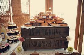 Cake Stands Rustic Wedding Dessert Table Wooden Crates