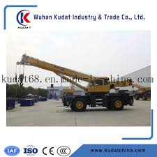 China 40tons Telescopic Boom Truck Crane Qry40 - China Crane, Rough ...