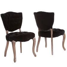 Amazon.com - Christopher Knight Home 230344 Violetta Tufted Black ... Black Fabric Ding Room Chairs Metal Isabella Chair Pairs Grey Lovely 25 Set Of 2 Brookville Belianifr Modern Design Buy Ding Chairs Blackandwhite Upholstered Hgtv Merax Rowico Vicky With Legs Pair Golden Homesullivan Whitmire Cowhide Parsons Two Kingston Floral And White Four Whosale Chair Room Fniture Jaelynn Scroll Gdf Studio