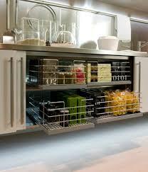 Storage Area In Cabinet Spatia An Amazing Hideaway Kitchen Design By Arclinea Appliances
