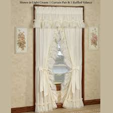Lush Decor Belle Curtains by Amazing Idea Cream Ruffle Curtains Fresh Decoration Amazoncom Lush
