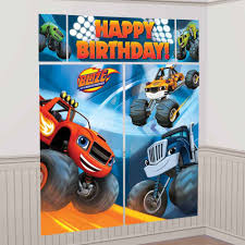 Blaze   Party Store Girl Monster Truck Party Ideas At Birthday In A Box Pin By Vianey Zamora On Decoration Truck Pinterest Cake Decorations Simple Cakes Brilliant Jam Given Minimalist Article Little 4pcs Blaze Machines 18 Foil Balloon Favor Supply 2nd Diy Jam Gravedigger Photo 10 Of Table Amazoncom Birthdayexpress Room Cboard Id Mommy Diy